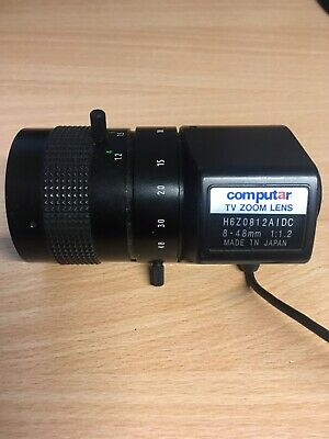 Computar Manual Zoom Lenses H6Z0812AIDC 1/2  8-48mm F1.2 6X Manual Zoom • 50£