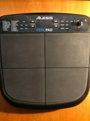 Alesis PercPad 4-Pad Percussion Musical Instrument Electronic Drums Used • 45£