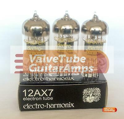 Electro Harmonix 12AX7 Preamp Valve Three Pack • 69.27£