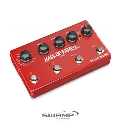 TC Electronic Hall Of Fame 2 X4 Reverb Pedal With 4 MASH Switches • 287.30£