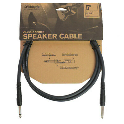 Planet Waves Classic Series Speaker Cable, 5 Feet PW-CSPK-05 • 8.95£