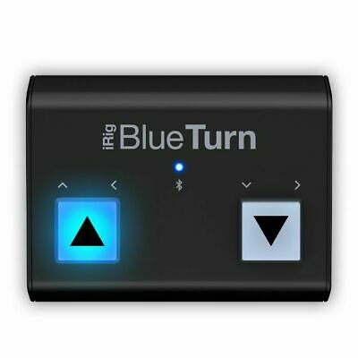 IK Multimedia IRig BlueTurn Bluetooth Page Turner For IOS & Android Devices • 68.60£
