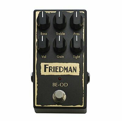 Friedman Amplification BE-OD Overdrive Guitar Effects Pedal • 235.27£