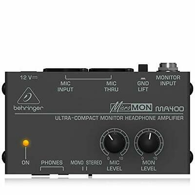 Behringer MicroMON MA400 Ultra-Compact Monitor Headphone Amplifier • 36.36£