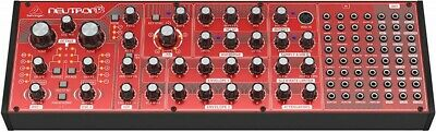 NEW Behringer NEUTRON Paraphonic Analog Semi-Modular Synthesizer Red From JAPAN • 372.82£