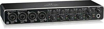 NEW Behringer UMC 404HD 4 Input 4 Output MIDI / USB Audio Interface From JAPAN • 174.62£
