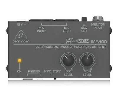Behringer MA400 Monitor Headphone Amplifier • 23.99£