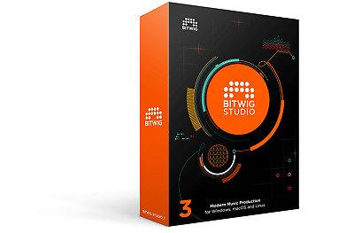 Bitwig Studio 8-Track Upgradable License - V2.5.1 And V3.1.3 Windows Linux Mac  • 7.99£