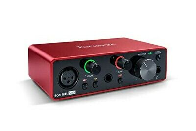 Focusrite Scarlett Solo (3rd Gen) USB Audio Interface With Pro Tools First • 135.65£