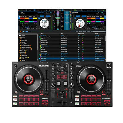 Numark Mixtrack Platinum FX Inc Serato DJ Lite Software • 245£