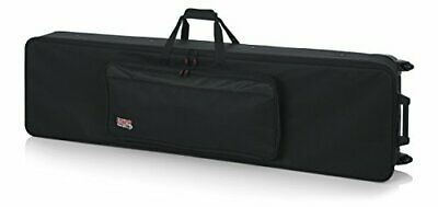 Gator Cases Lightweight Rolling Keyboard Case For Slim Extra Long 88 Note Key... • 264.35£