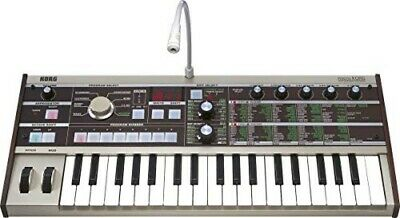 KORG Analog Synthesizer Vocoder MicroKORG Compact 37-key Adapter With Microphone • 331.53£