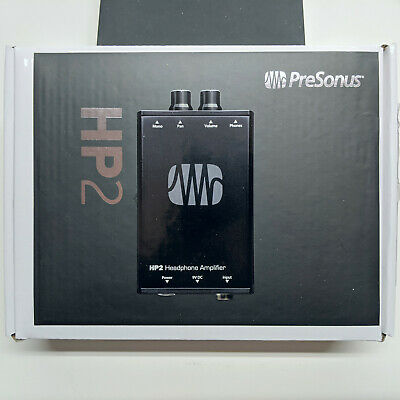 Presonus HP2 2 Channel Stereo Headphone Amplifier System HP-2 NEW IN BOX • 65.43£