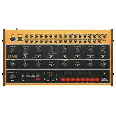 Behringer Crave Analog Synthesizer / Sequencer * 2 Year Warranty * Only 1 Left! • 149£