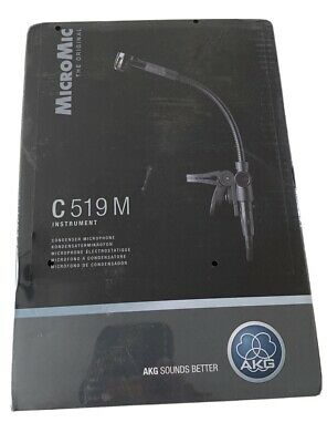 AKG C519M Micromic With Clip (XLR) (NEW) • 80£