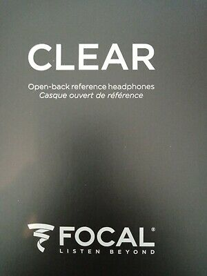 Focal Clear Headphones - Open Back Reference Studio Pro - Great Condition Boxed. • 999£
