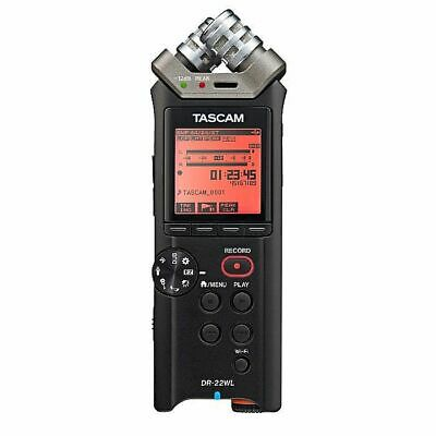 Tascam DR 22WL Portable Handheld Recorder With Wifi & 4GB MicroSD Card Included • 140.42£