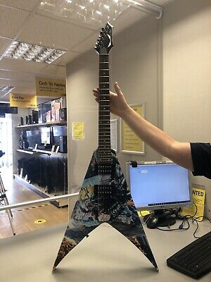 Dean Guitars V Dave Mustaine - United Abominations Electric Guitar