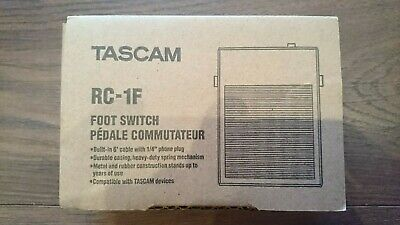 Tascam RC-1F Footswitch • 19.99£