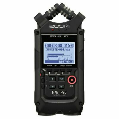 Zoom H4n Pro Handy Handheld Digital Audio Recorder With Cubase LE & Wavelab L... • 217.95£