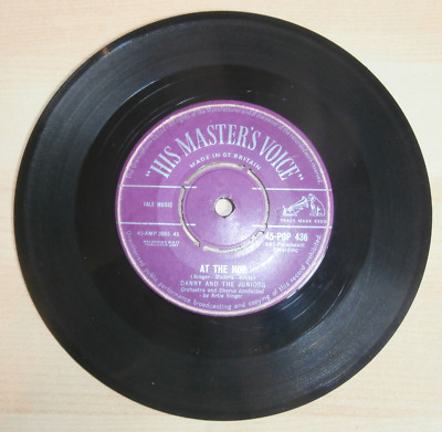 Danny And The Juniors  At The Hop / Sometimes   (1957) HMV Purple Label • 12.50£