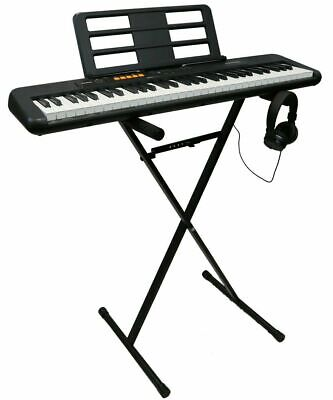 CASIO CT-S100AD 61 Key Full Size Keyboard, Stand And Headphones (B 6180962 AU) • 94.99£
