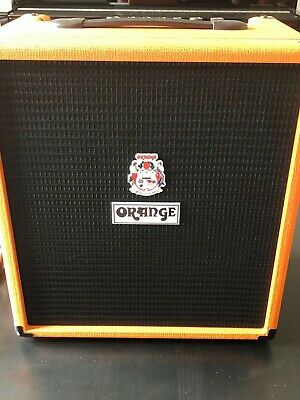 Orange Crush Bass 50 Amplifier With Built In Tuner • 130£