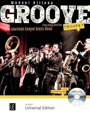 Groove Trumpet With CD: Play Along With The • 23.05£