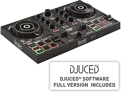 Hercules DJControl Inpulse 200 – DJ Controller With USB, Ideal For Beginners To • 98.57£