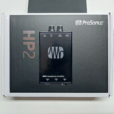 Presonus HP2 2 Channel Stereo Headphone Amplifier System HP-2 NEW IN BOX • 68.99£