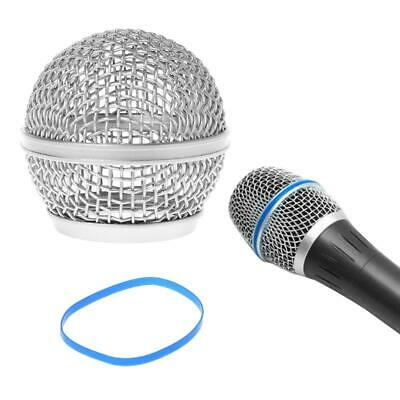 Replacement Ball Head Mesh Microphone Grille Fits For Shure Beta58A / Beta58 • 3.08£