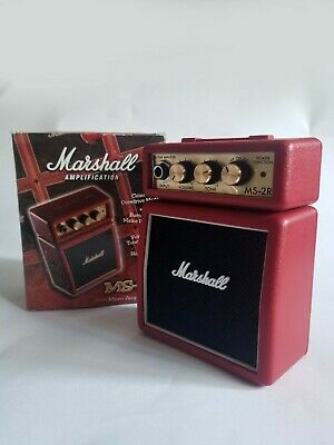 Marshall MS2R Micro Amp - Red, Unused.  • 23.99£