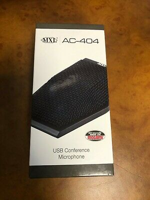 MXL AC404 USB Conference Microphone, BLACK NEW Zoom • 61.85£