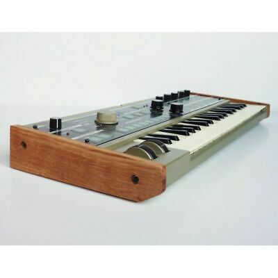 Synths & Wood Solid Oak End Cheeks Stand For Korg Microkorg Synthesiser • 39.99£