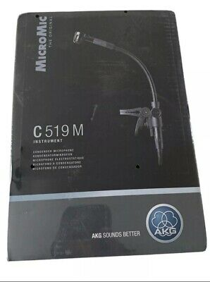 AKG C519M Micromic With Clip (XLR) (NEW) • 85£