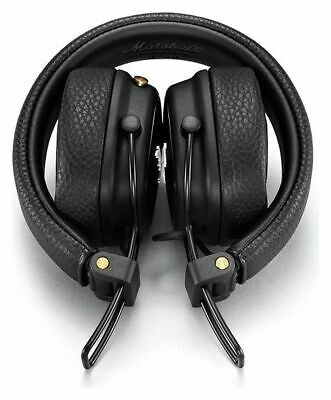 Marshall Major III On-Ear Bluetooth Wireless Playtime Headphones - Black • 79.99£