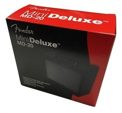 NEW Fender 0234810000 MINI DELUXE AMPLIFIER MD20 For Guitar From JAPAN • 40.89£