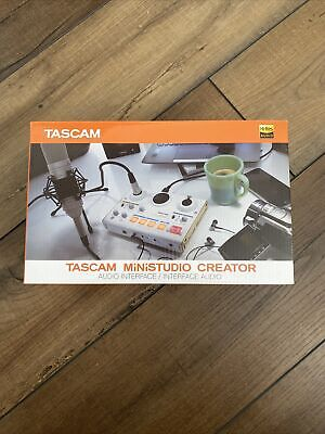 TASCAM MiNiSTUDIO Personal US 2 Audio Interface Podcasting With Tracking Japan • 62.30£