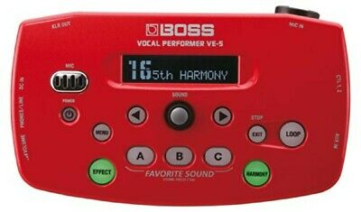 BOSS VE-5-RD Vocal Performer Red • 231.15£