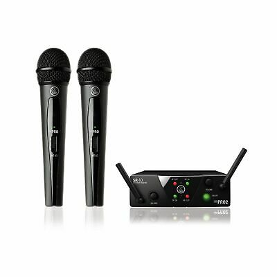 AKG WMS40 Mini Dual Vocal • 135£