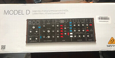 Behringer Model D Analogue Synthesizer (ZB916) • 225£