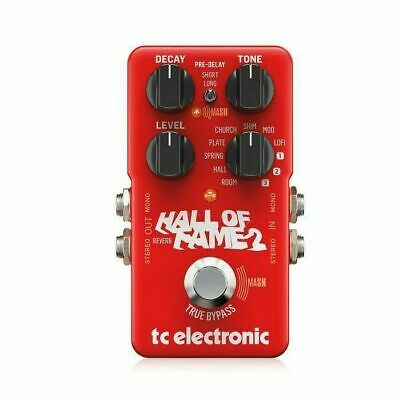 TC Electronic Hall Of Fame 2 Reverb Pedal • 106.49£