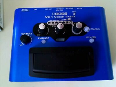 Boss Ve-1- Great Condition - Only Used Twice • 100£