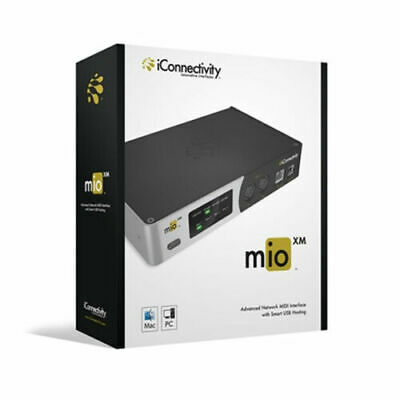 IConnectivity MioXM MIDI Interface, 4 Channel, Usb, Ethernet • 179.20£