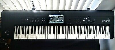 Korg Krome 73 Note Synth Workstation Triton An Kronos Sounds Excellent Condition • 599£