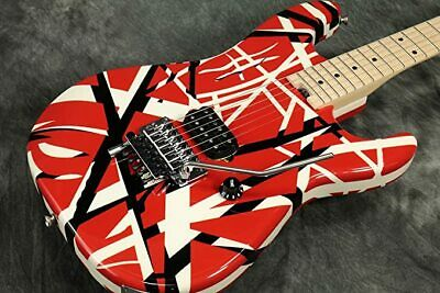 EVH Striped Series 6 String Electric Guitar - Red With Black Stripes • 1,267.80£