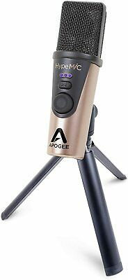 Apogee HypeMiC USB Cardioid Condenser Microphone With Pop Filter And Stand *NEW* • 255.28£
