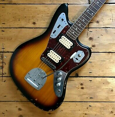 Fender Kurt Cobain Road Worn Jaguar 2012 Sunburst - Excellent • 1,699.99£