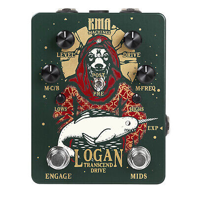 KMA Audio Machines Logan Overdrive Pedal • 157.35£