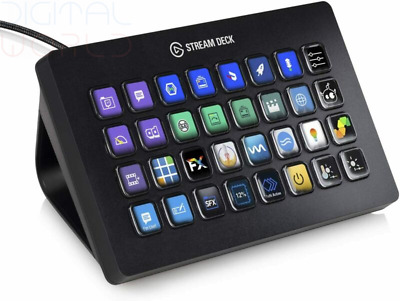 Elgato Stream Deck XL - Enhanced Control With 32 Customizable LCD...  • 530.89£